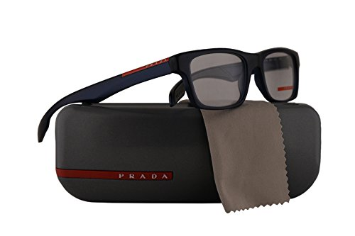 Prada PS07CV Eyeglasses 53-18-140 Matte Avio w/Demo Clear Lens SMI1O1 VPS07C VPS 07C PS - Sunglasses 07 Less 4