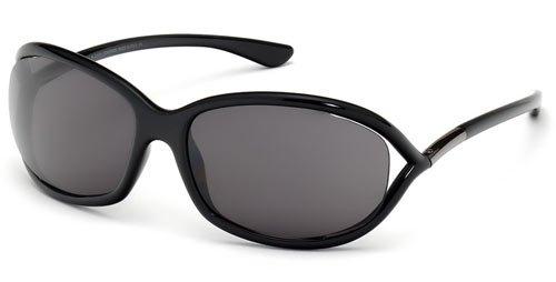 TomFord JENNIFER FT0008 Sunglasses TF8 Color 199 Black TF - Sun Tomford Glasses