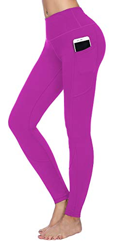 HOFI High Waist Yoga Pants for Women Side & Inner Pockets