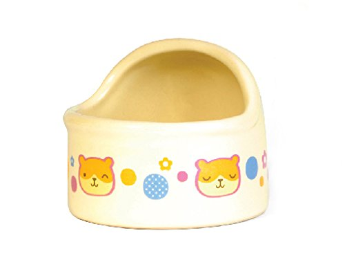 Wildforlife Arc Top Ceramic Small Animal Hamster Bowl (S(2.8