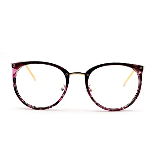 XINMADE MIO Blue Light Blocking Glasses,Computer and Gaming Glasses (Purple - With Sunglasses Fsa