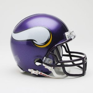 Riddell Minnesota Vikings Replica Mini Helmet