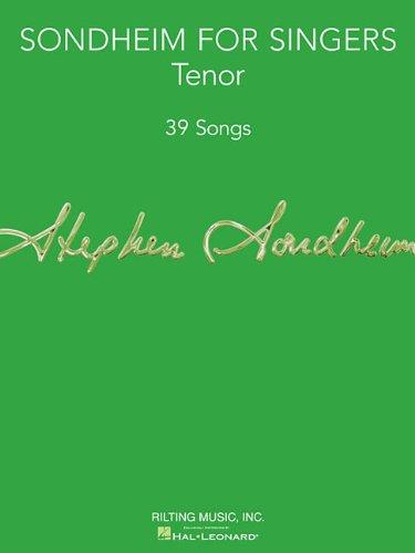 Sondheim For Singers: Tenor (39 Songs)