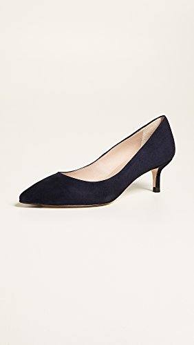 Lk Bennett Mujeres Audrey Point Toe Pumps Navy