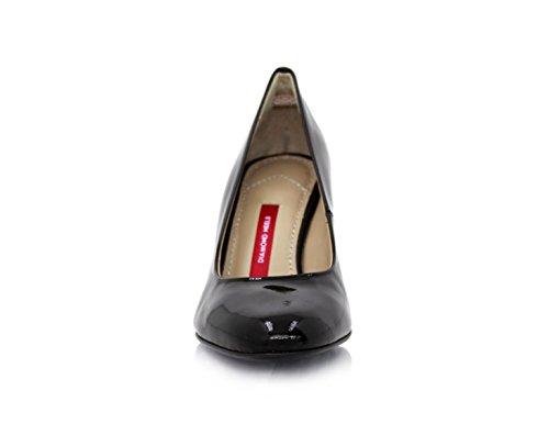 negro de Heels charol vestir mujer Zapatos de Negro Diamond para qgCawn