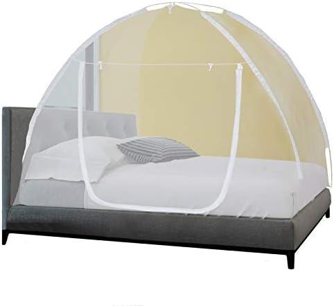 Moustiquaire mobile pour lit 2 places 200 x 180 x 150 cm