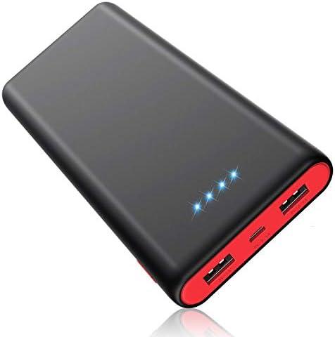 [スポンサー プロダクト]モバイルバッテリー 25800mAh 大容量 【PSE認証済】急速充電 2USB出力ポート 残量表示 スマホ充電器 iPhone/iPad/Android機種対応