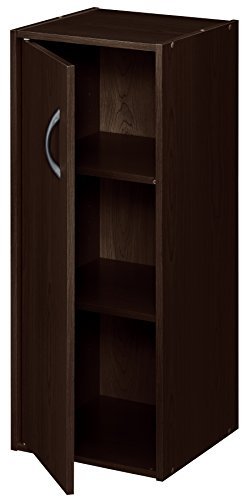ClosetMaid 8991 Stackable 1-Door Organizer, Espresso ()