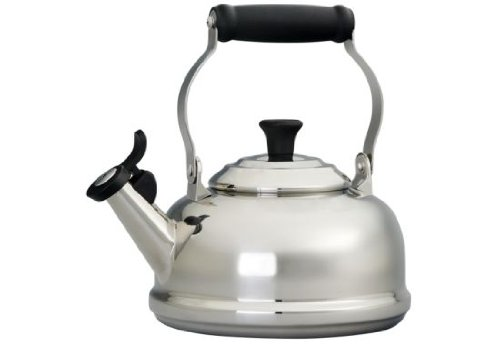 Le Creuset 1.75 -Quart Stainless Steel Whistling Tea Kettle