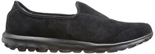 Skechers rendimiento GB marcha invierno Memory Foam calzado de senderismo Slip-on Negro - negro