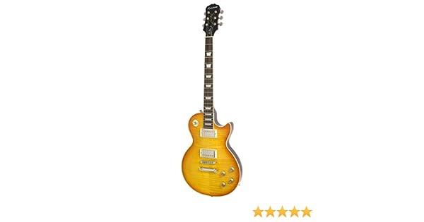 Epiphone Ltd Ed Les Paul Standard Plustop PRO - Guitarra eléctrica, Iced Tea (Amazon Exclusivo): Amazon.es: Instrumentos musicales