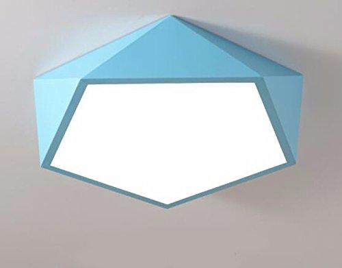 Fgsgz lampada da soffitto lights bambini moderna e creativa diamanti