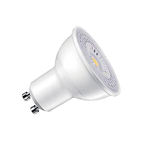 Bombilla dicroica LED GU10 COB, 45º, 8W, Regulable, Blanco neutro, Regulable: Amazon.es: Iluminación