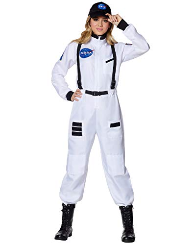 Astronaut Costume Adult - Spirit Halloween Adult NASA Spacesuit Costume