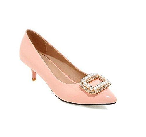 de 41 Tacón 43 Zapatos Corte los la de Boda de de Alto Boda XIE del Red PINK Zapatos la SwHqp