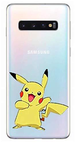 Générique Coque Samsung Galaxy S10 Plus Pikachu Pokemon