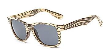TYJYY Sunglasses Gafas De Sol De Madera Hombre De ...