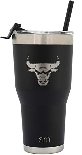 Simple Modern Chicago Bulls 30oz Cruiser Straw Tumbler - NBA