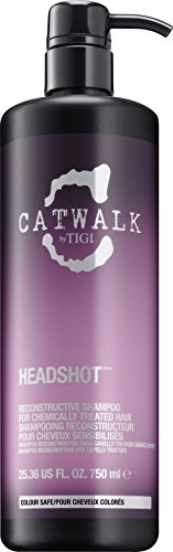TIGI Catwalk Headshot Reconstructive Shampoo for Unisex, 25.36 (Tigi Catwalk Head Shot)