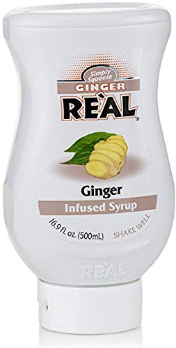 Banana Reàl, Ginger Puree Infused Syrup, 16.9 FL OZ Squeezable Bottle | Pack of 12 by Reàl (Image #2)