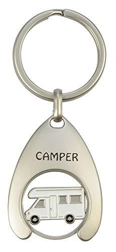 31KWhN2eX L Schlüsselanhänger mit Einkaufswagenchip Camper