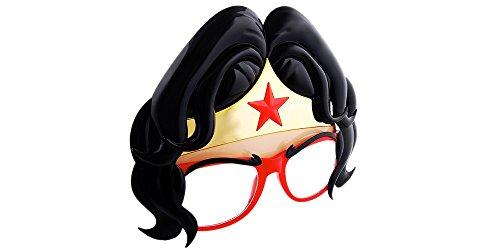 Forum Novelties Wonder Woman Mask Sunglasses. Wonder Woman Halloween & Costume Party Sunglasses -