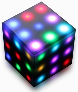Rubik's Futuro Cube - A new, customizable, 3x3x3 electronic cube with a variety of games, online capability, and multi-player supported! by Rubik's