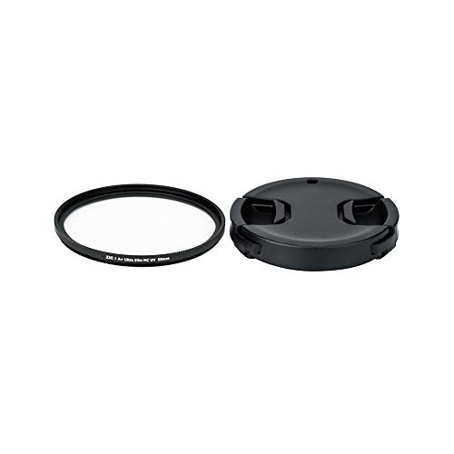 (PROfezzion 58mm Protection UV Filter and Lens Cap Kit for Canon VIXIA HF G21 G10 G20 G26 G30 G40 G50 G60 XA50 XA40 XA30 XA15 XA11 XF400 XF310 XF705 Camcorder and More Lenses with 58mm Filter Thread)