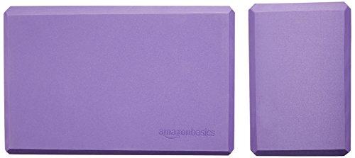 AmazonBasics Yoga Blocks, Set of 2 - Purple by AmazonBasics (Image #6)