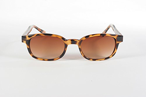 KDs Unisex-Adult Biker sunglasses Brown One Size