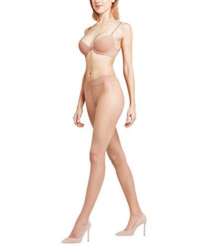 FALKE Shelina Panty voor dames, 12 denier, zwart, huidskleur, vele andere kleuren, versterkte fijne panty zonder patroon…
