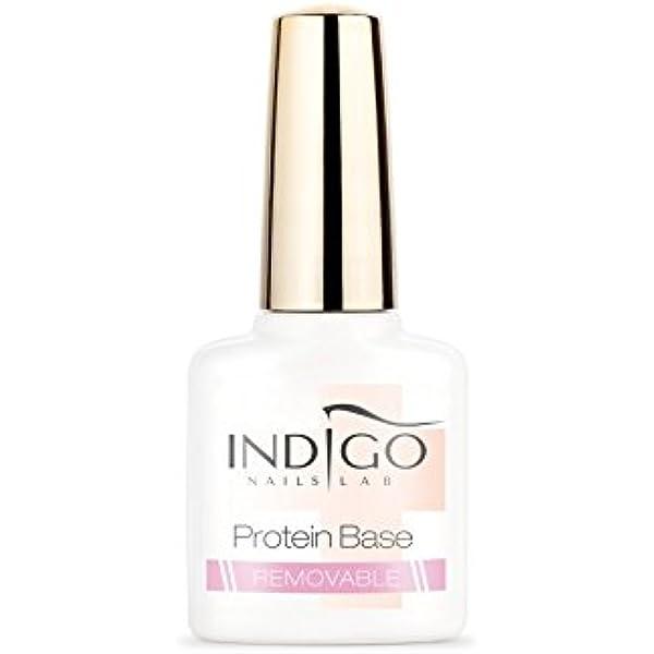 INDIGO NAILS Base extraíble de proteínas, 7 ml.: Amazon.es ...