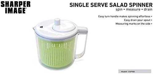 Sharper Image Single Serve Salad Spinner