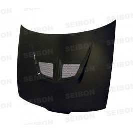 Seibon Carbon Fiber EVO-Style Hood Acura Integra 90-93