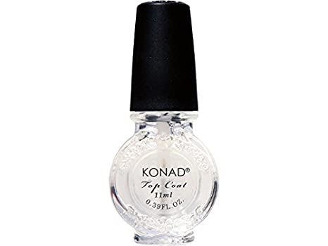 Buy Konad Stamping Nail Art Top Coat 11ml Online At Low Prices In