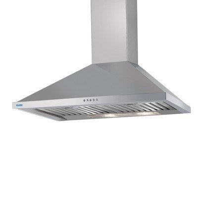 Glen Kitchen Chimney Gl 6054 Ss 60Cm 1250M3 Bf Easy Clean- Silver