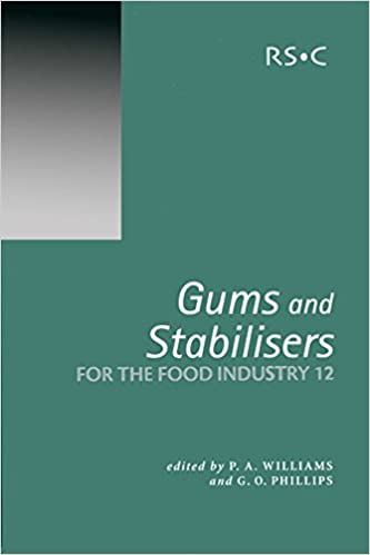 Gums and Stabilisers for the Food Industry 12: RSC (Special