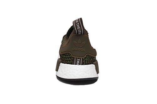 Adidas Mens Nmd_r1 Stlt Primeknit Originelen Hardloopschoen Trace Olive / Core Zwart