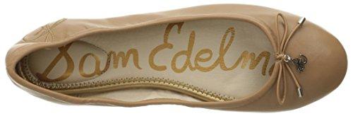 Sam Edleman Felicia - Bailarinas mujer Dorado(Golden Caramel Leather)