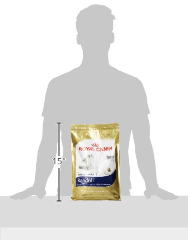 Royal Canin BREED HEALTH NUTRITION Ragdoll dry cat food, 7-Pound by Royal Canin (Image #5)