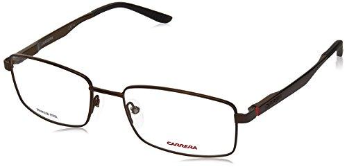 Carrera 8812 Eyeglass Frames CA8812-0J7D-5518 - Semi Matte Bronze Frame, Lens Diameter - Carrera Top Full