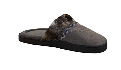 Imani Taup 9 8 Donne Intasare Smokey Pantofola 5 Delle Isotoner dwqxCzYnfd
