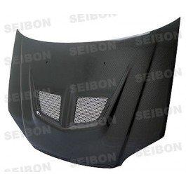 Seibon Carbon Fiber EVO-Style Hood Honda Civic 01-03