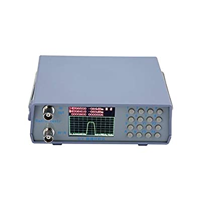 U/V UHF VHF Dual Band Spectrum Analyzer Simple Spectrum Analyzer with Tracking Source Tuning Duplexer 136-173/400-470MHzZRX