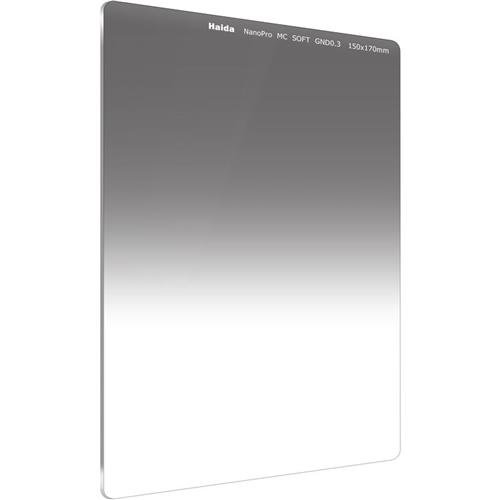 Haida NanoPro 150mm x 170mm MC Soft Grad ND 0.3 1 Stop Optical Glass Filter 150 ND2 Neutral Density HD3480