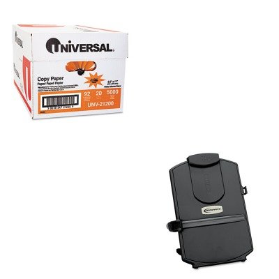 KITIVR59001UNV21200 - Value Kit - Innovera Desktop Copyholder (IVR59001) and Universal Copy Paper (UNV21200)