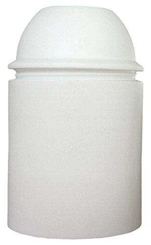 Douille E27 Thermoplastique Lisse Blanc Les Outils 140820