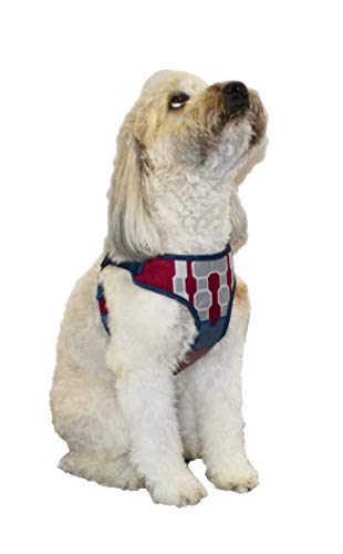 Marvel Comics Captain America Dog Harness, Medium | Best Avengers Infinity War Harness for All Medium Size Dogs