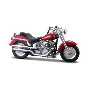 Harley Davidson 2004 FLSTFI Fat Boy by Maisto Harley Davidson Die Cast Model