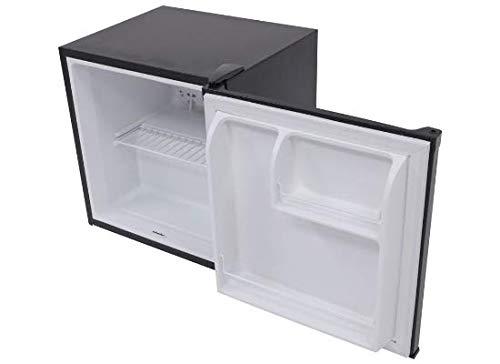 Matte Black Furrion FCR17ACA-BL 1.7 Cubic Feet Compact Mini RV Refrigerator